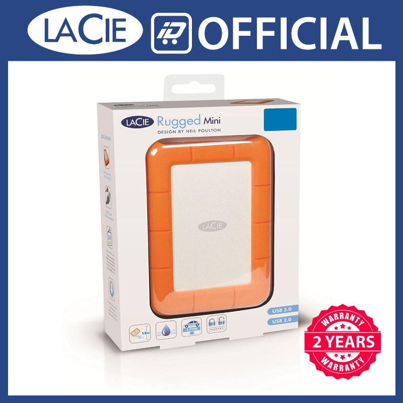 Lacie Rugged Mini 1tb 2tb 4tb