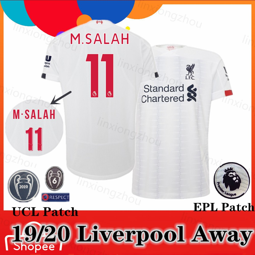 new concept edf3c fe5ad Top Quality 19/20 Liverpool Away Jersey Soccer Jersey Football Jersey