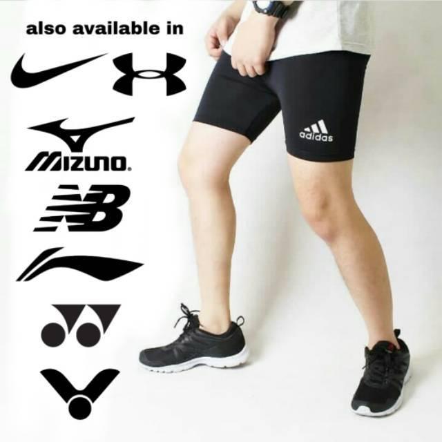 46cm Leggings Baselayer Cuffs Short Shorts Futsal Badminton Bicycle Swimming Shopee Singapore