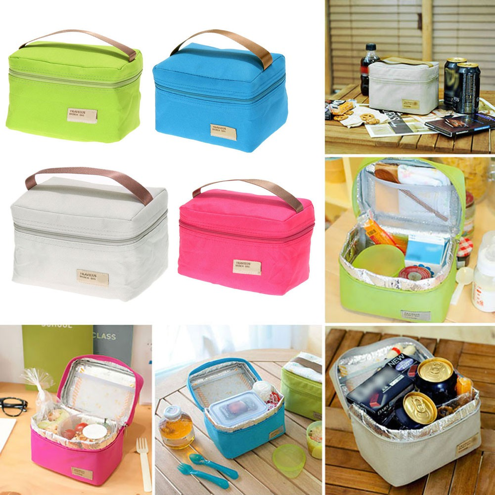 Uni 12 Styles Portable Insulated Thermal Cooler Bento