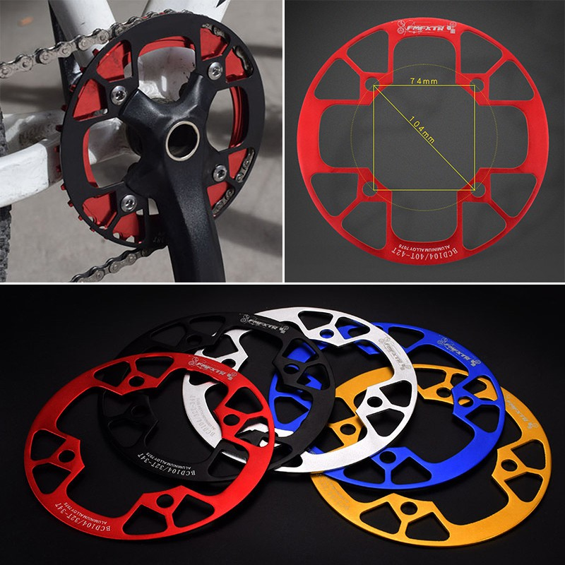 Details about  /Chainring Supply Wheel Aluminum Alloy Bike Bicycle Components Accessories