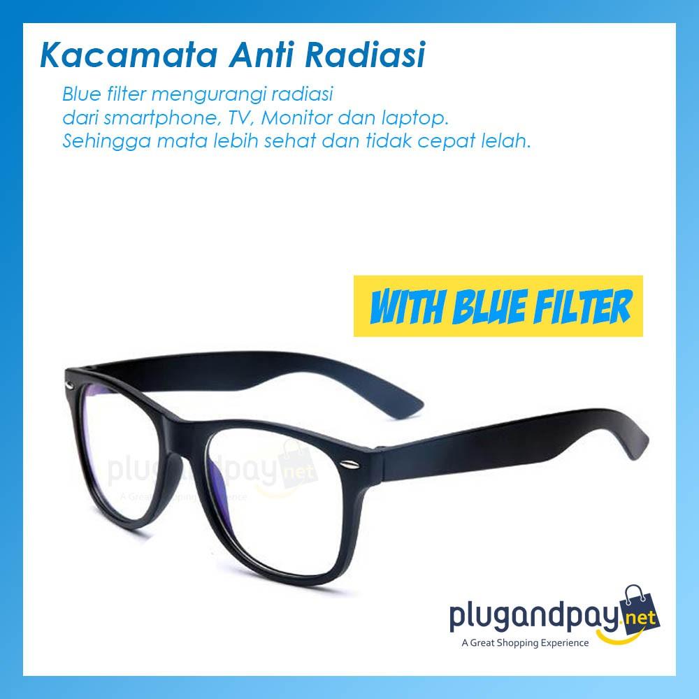 Blue Light Anti Radiation Computer Glasses Shopee Singapore