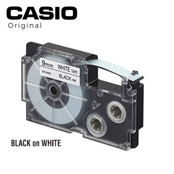 This is a photo of Impertinent Casio Xr 9we Label Tape
