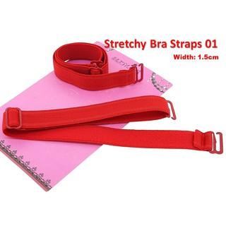 Prettyia Adjustable Bra Shoulder Cross Strap Lady Butterfly Flower Underwear