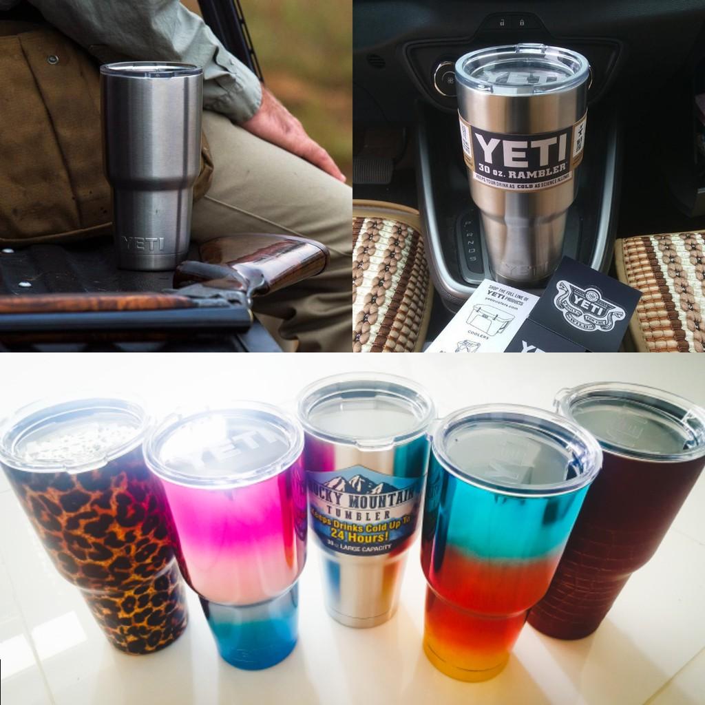 Splash Proof Spill Resistant Lid Yeti Rtic Rambler Tumbler Cup Gelas Plastik Tutup Colorfull Shopee Singapore
