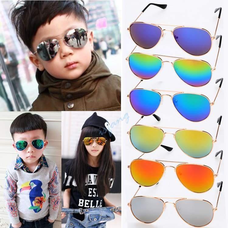 4aeaff6ec2 Korean fashion children s personality big box sunglasses