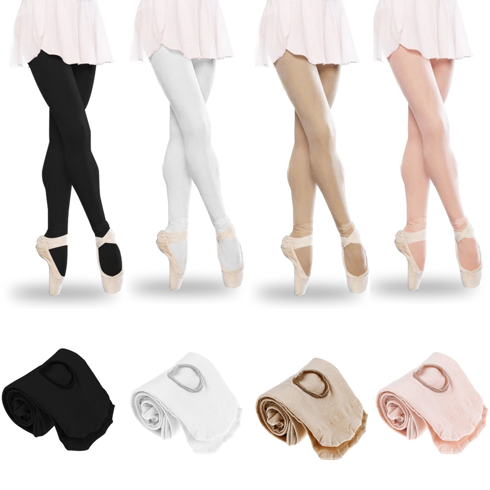 d1c75dd9c Convertible Tights Dance Stocking Footed Socks Ballet Pantyhose ...