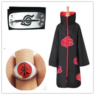 Details about  /Akatsuki Uchiha Sasuke Cosplay Costume Robe Hooded Cloaks Uniform!