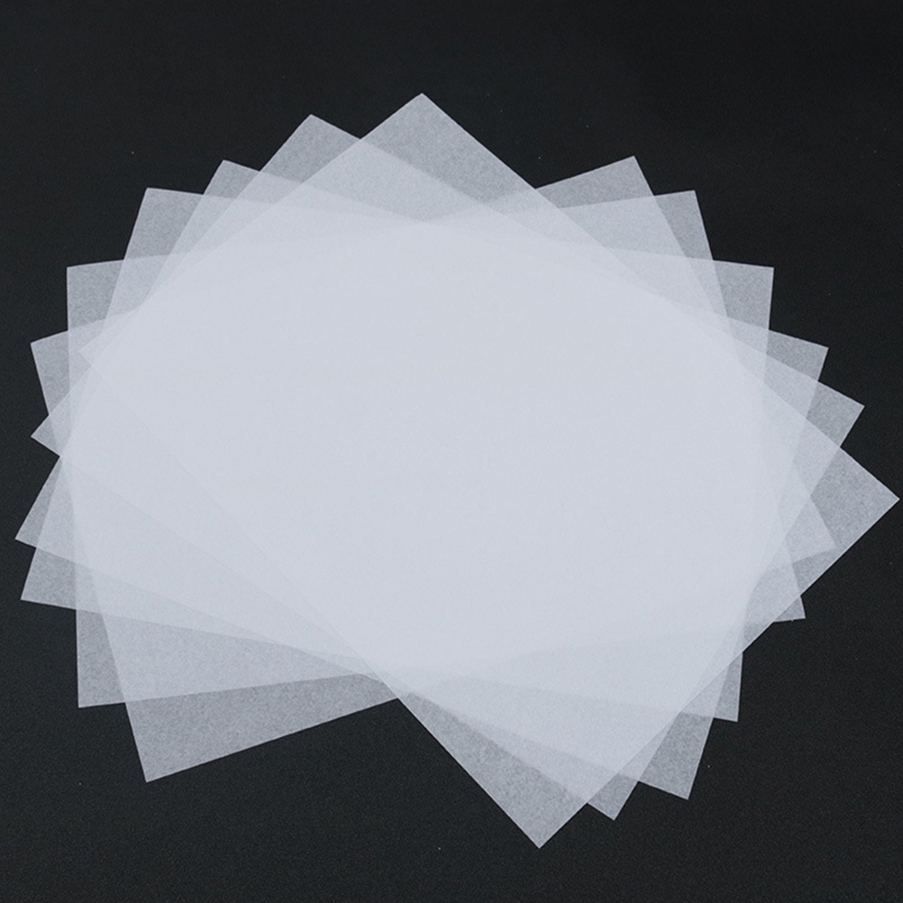 100x Translucent Tracing Paper Craft Copying Calligraphy Drawing Sheet DIY Sales