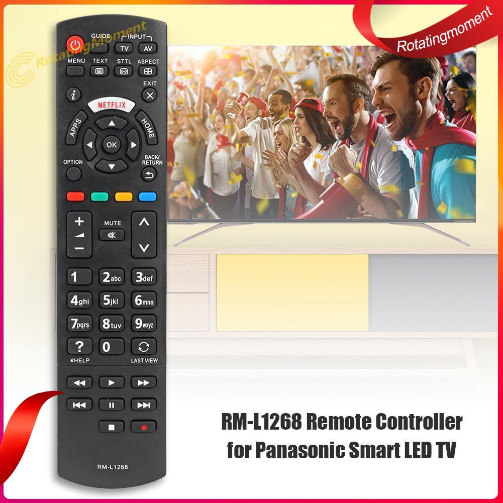 Smart LED TV Remote Control RM-L1268 for Panasonic Netflix N2Qayb00100