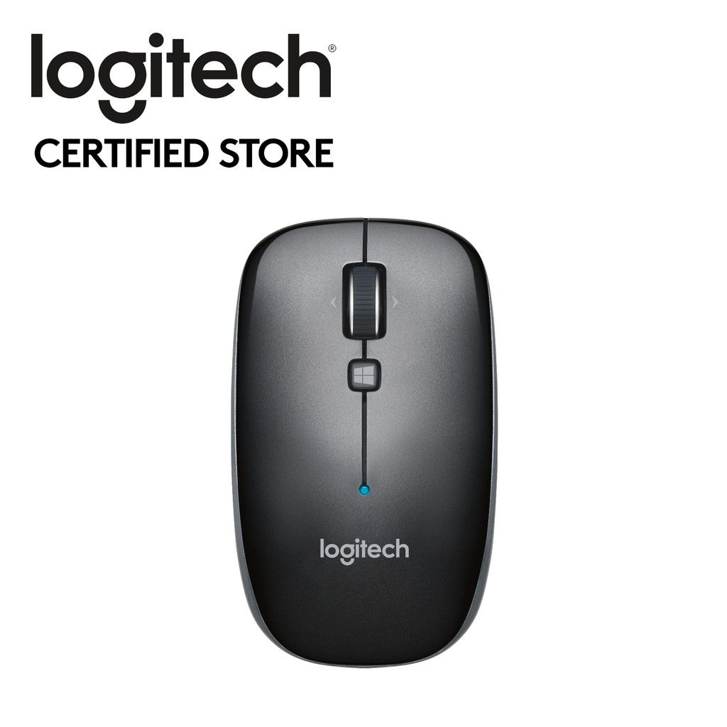 Logitech M557 Bluetooth Mouse - Dark Grey