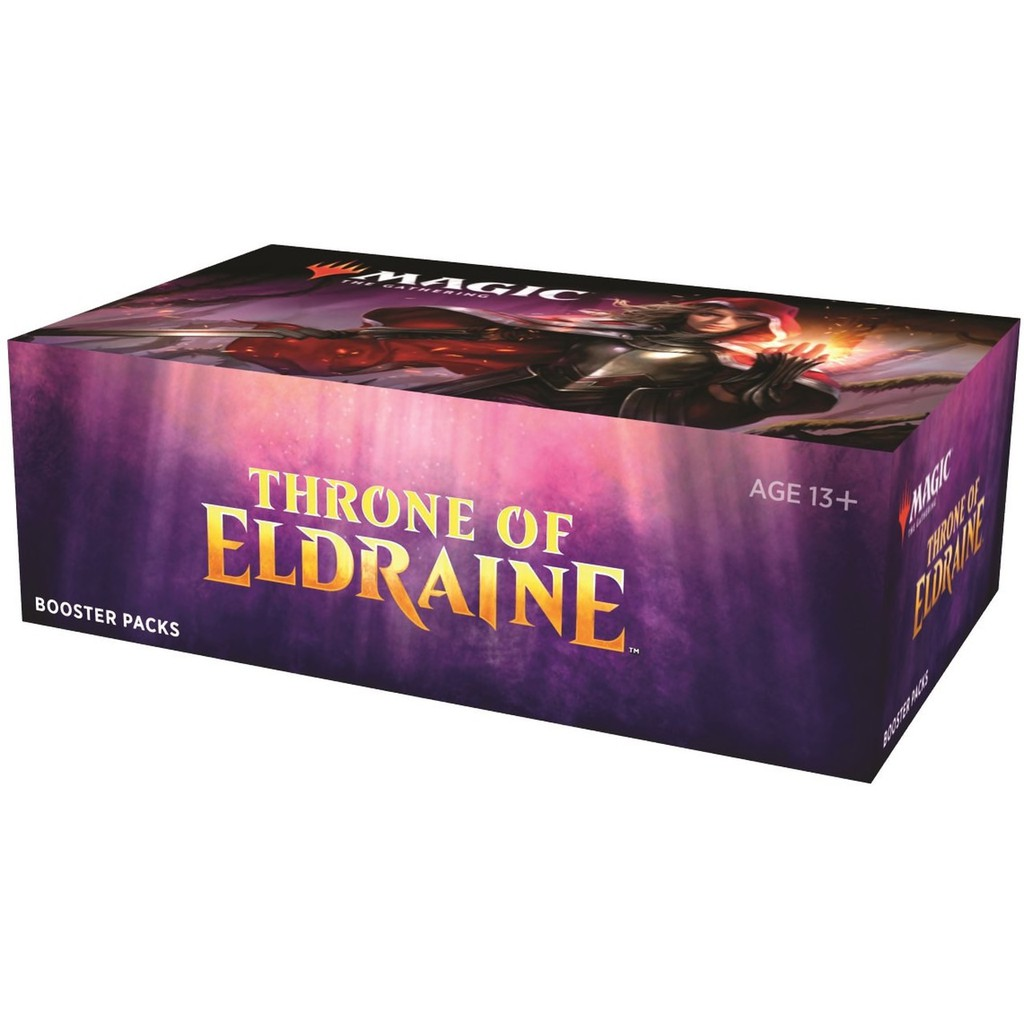 MTG Throne of Eldraine Collector Boosters Box of 12 packs Factory Sealed