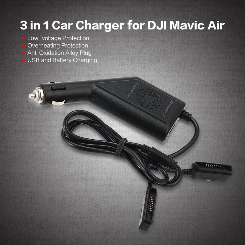 6in1 Mavic Air Battery Balance Charger Hub USB for DJI MAVIC AIR Drone RC745 | Shopee Singapore