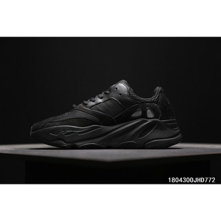 huge selection of 2f107 4745e Adidas Calabasas Yeezy Boost 700 Wave Runner 'All Black ...