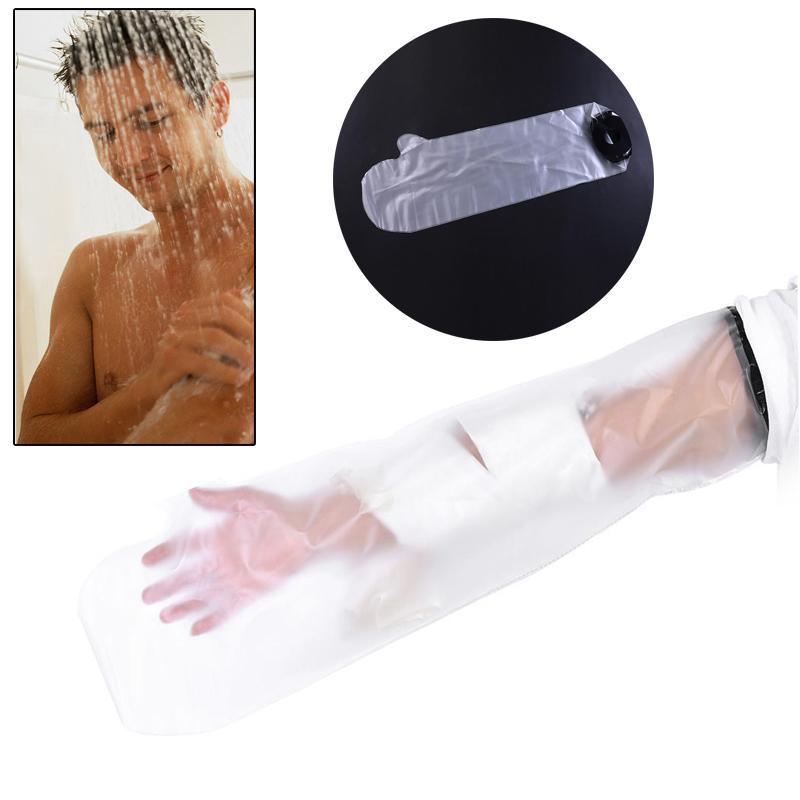 Supply Waterproof Sealed Cast Bandage Protector Wound Fracture Hand Arm Cover For Shower For Adult Short Arm Hand Foot Skin Care Tool Handsome Appearance Bath & Shower