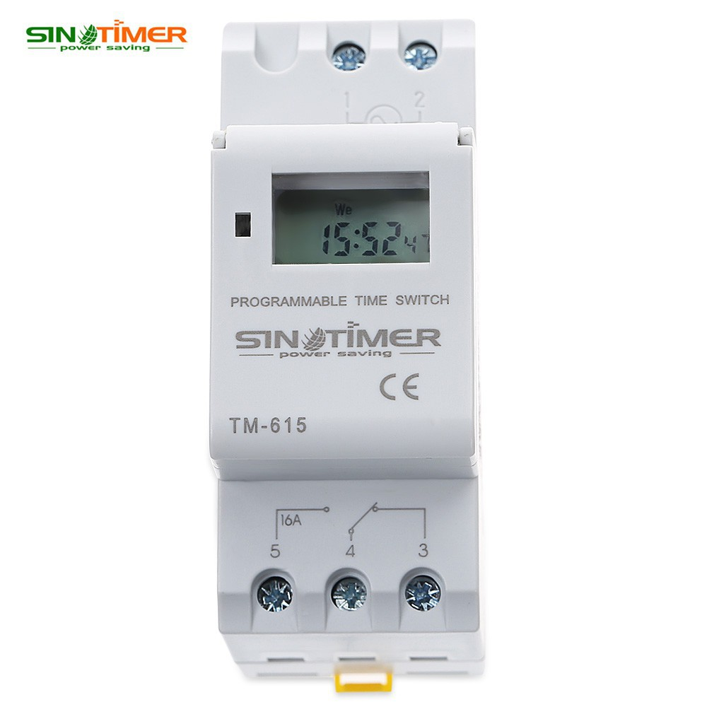 220V LCD Digital Programmable Control Power Timer Switch Time Relay   Shopee Singapore