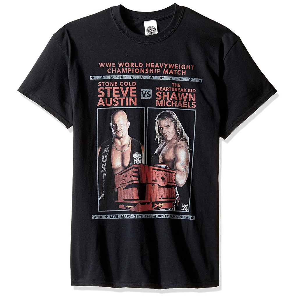 922b2f121 WWE Men's Shawn Michaels Sweet Chin Music Men's T-Shirt | Shopee Singapore