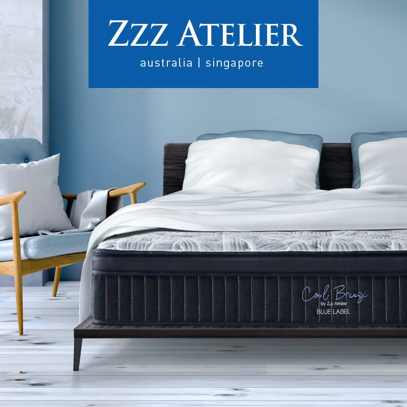 Zzz Atelier Chiropedic Blue Label Mattress * AUSTRALIAN BRAND * 5 Zone  Individually Pocketed Spring | Shopee Singapore