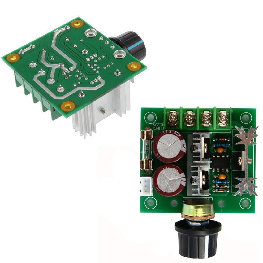 DC Motor Speed Control Switch Pulse 13khz PWM Adjuster 10A 12V-40V