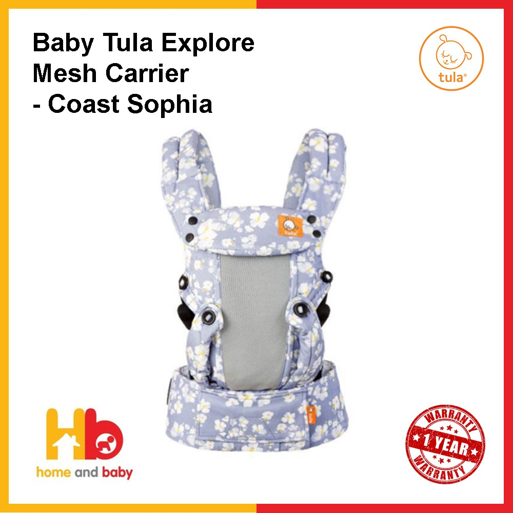 Tula Explore Mesh Baby Carrier | Shopee Singapore