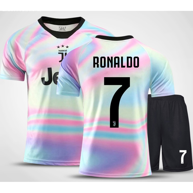 purchase cheap 40e66 aad0e Juventus Football Club Anniversary Jersey for Kids Cristiano ...