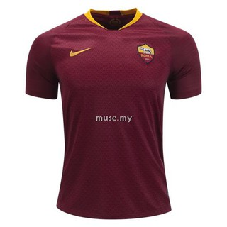 c734ed90f71 Men s Newest Top Quality AS Roma Home Soccer Jersey Football Jersey 18 19