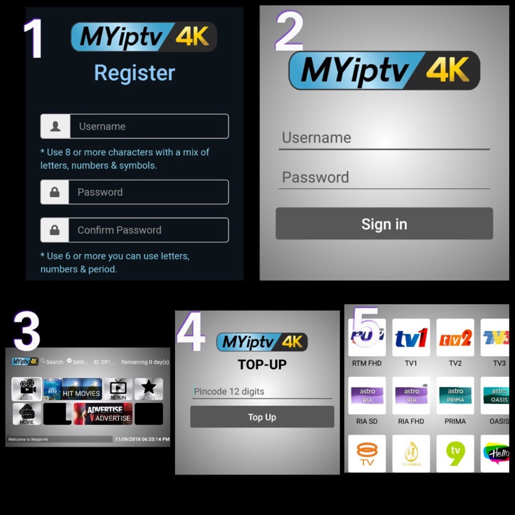 💥Trusted seller Myiptv 4K/Myiptv4k/MyPadTV/Hao Hd/Moon TV