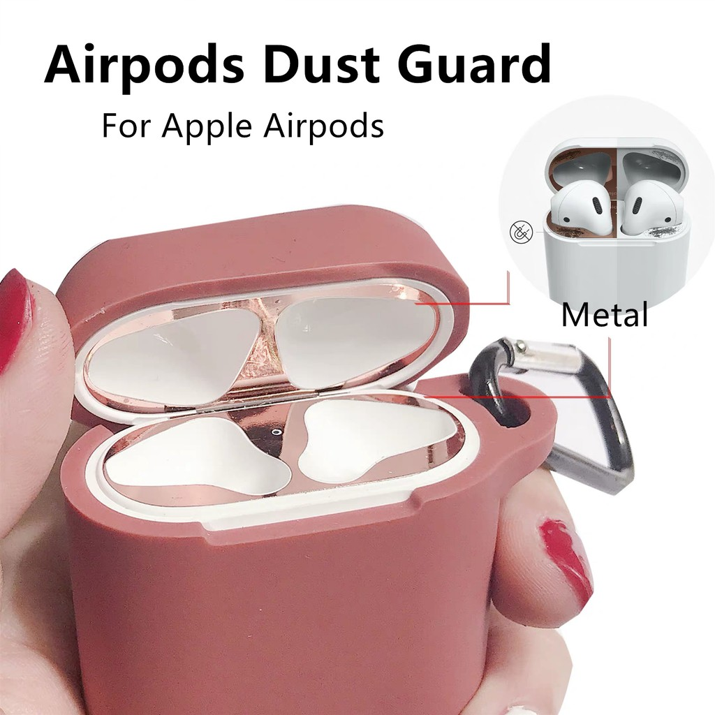 Airpods Dust Guard Anti Dust Slim Fit Protect For Apple AirPods From Metal  Dust