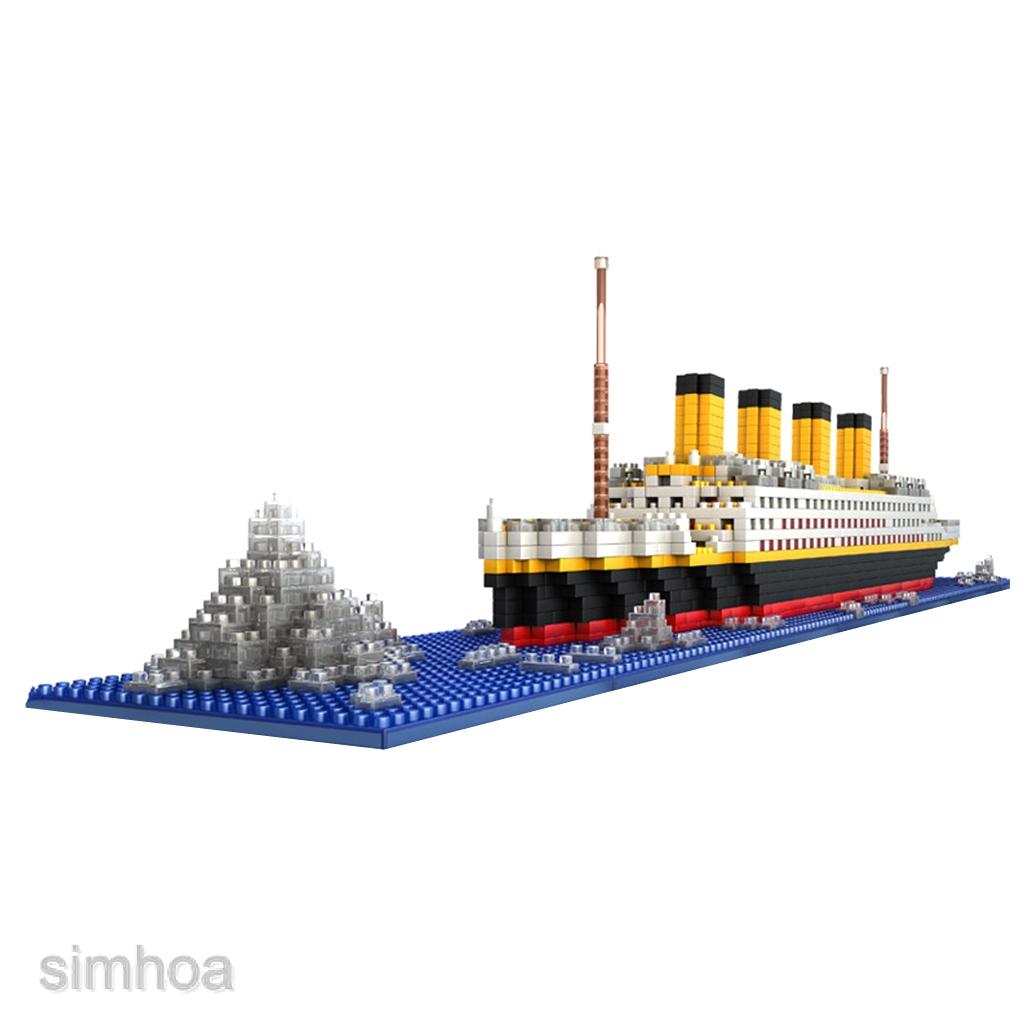 1860PCS Movie TITANIC Ship//Nano Nano Block Diamond Building EDC Toys Gifts