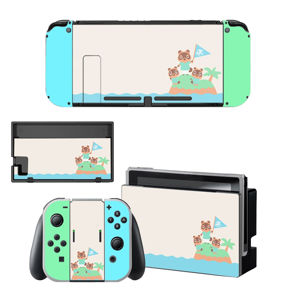 Animal Crossing Skin Sticker Vinyl For Nintendo Switch Screen