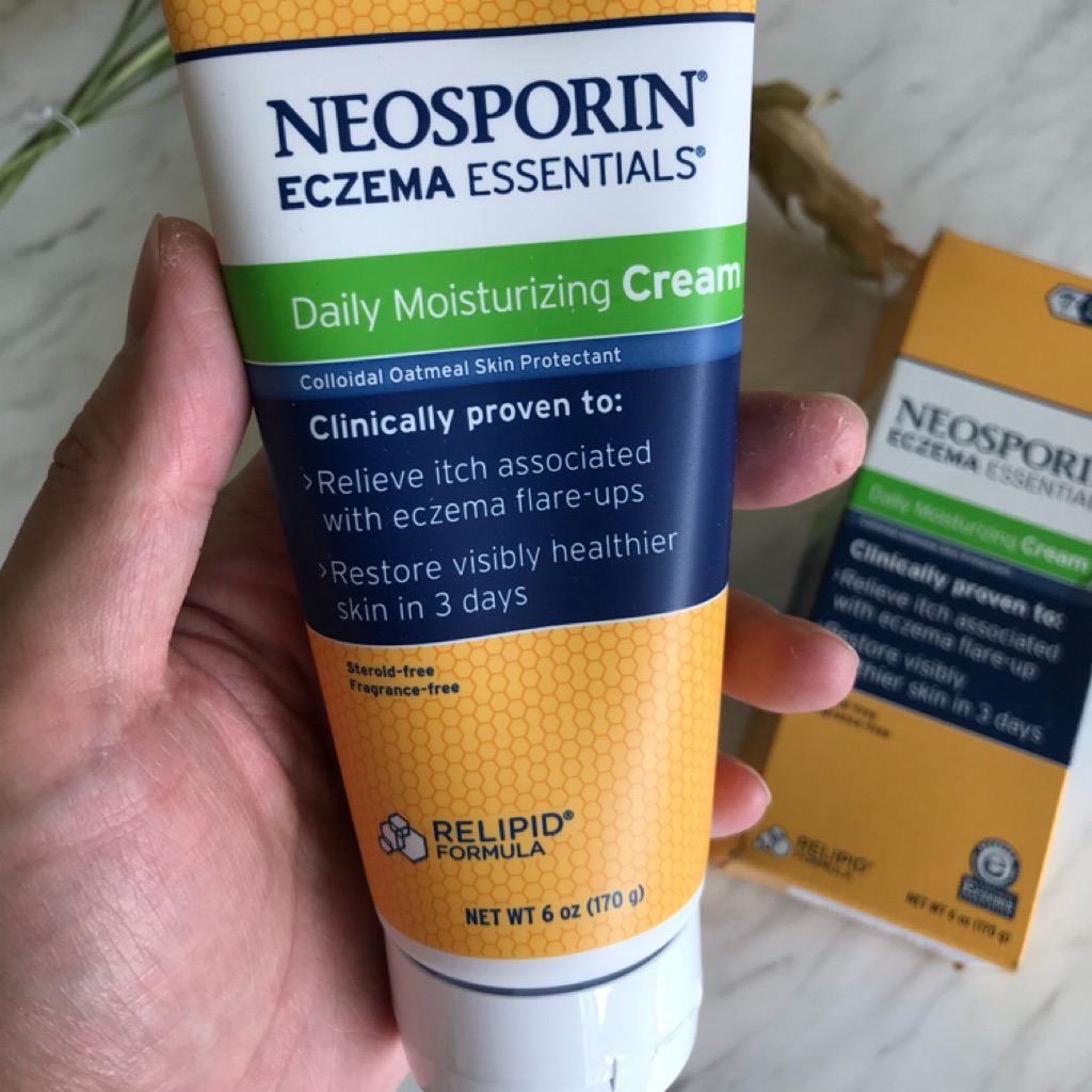 Neosporin Eczema Essentials Daily Moisturising Cream