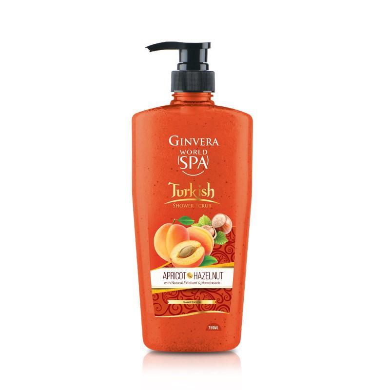 Ginvera World Spa Shower Scrub 750ml