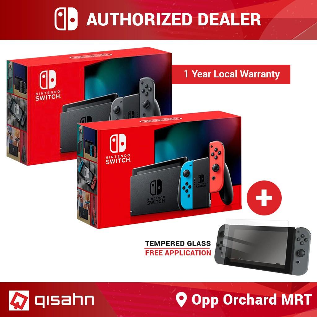 Nintendo Switch Console System Gen 2 Latest Model + Free ...