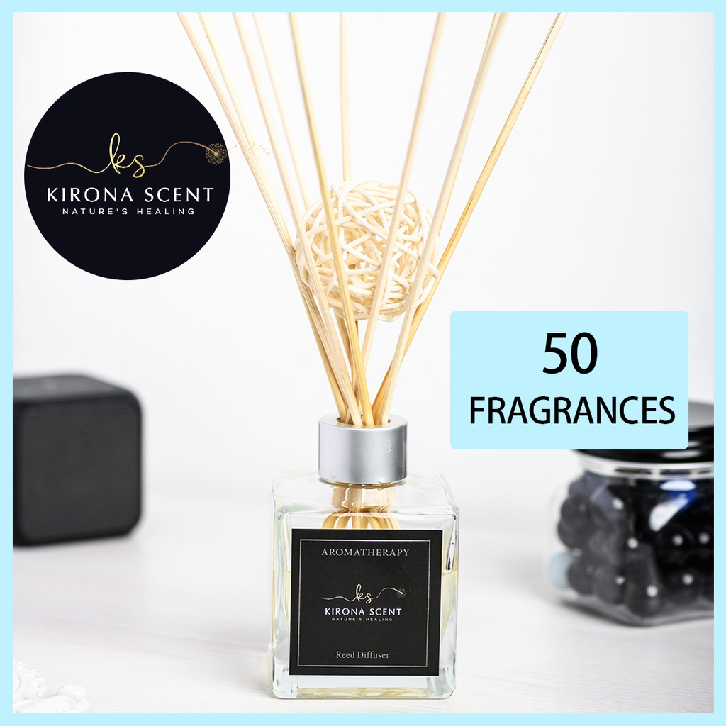 Year End Sale 120ml Aroma Diffuser Home Fragrance 50 Fragrance Reed Diffuser For Homes Office Bathroom Shopee Singapore