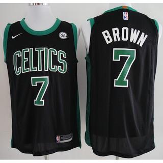 the best attitude 333b6 c53b9 2018 Original Nike NBA Boston Celtics Jaylen Brown #7 Black ...