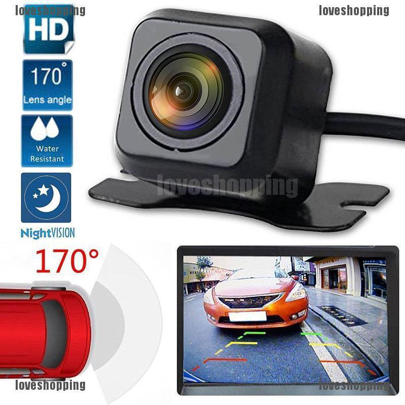 Wireless Car Rear View Reverse Backup Parking Assist Camera 170° Night Vision US