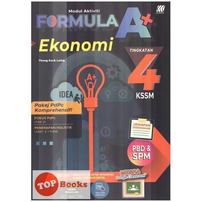 Jawapan Buku Teks Ekonomi Tingkatan 4 Kssm