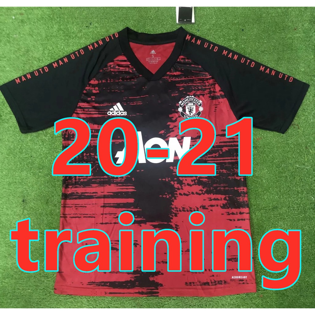 20 21 Manchester United Training Jersey S Xl Shopee Singapore