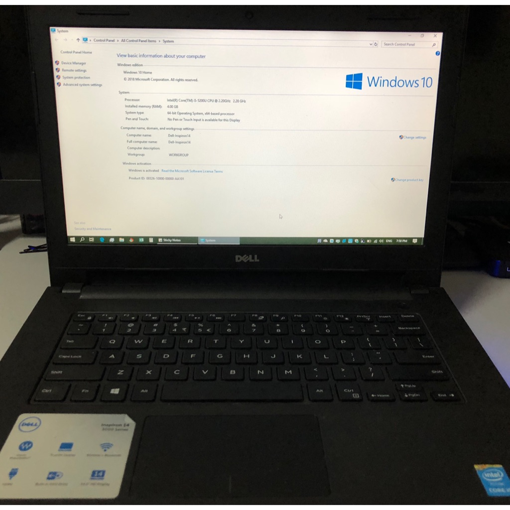 Used Dell laptop 💻
