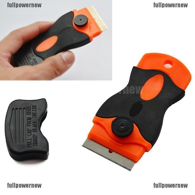 1 Set Car Sticker Window Spatula Tools Universal With Blades Convenience Useful