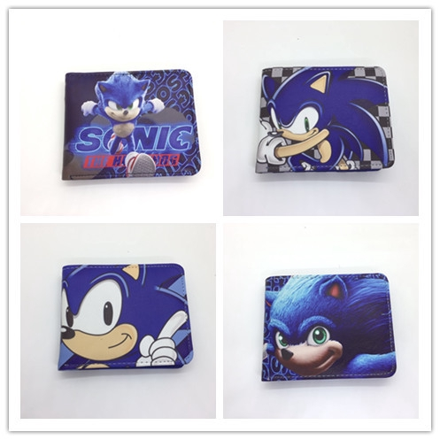 Sonic The Hedgehog Supersonic Mouse Pu Leather Wallet Student Wallet Coin Purse Shopee Singapore