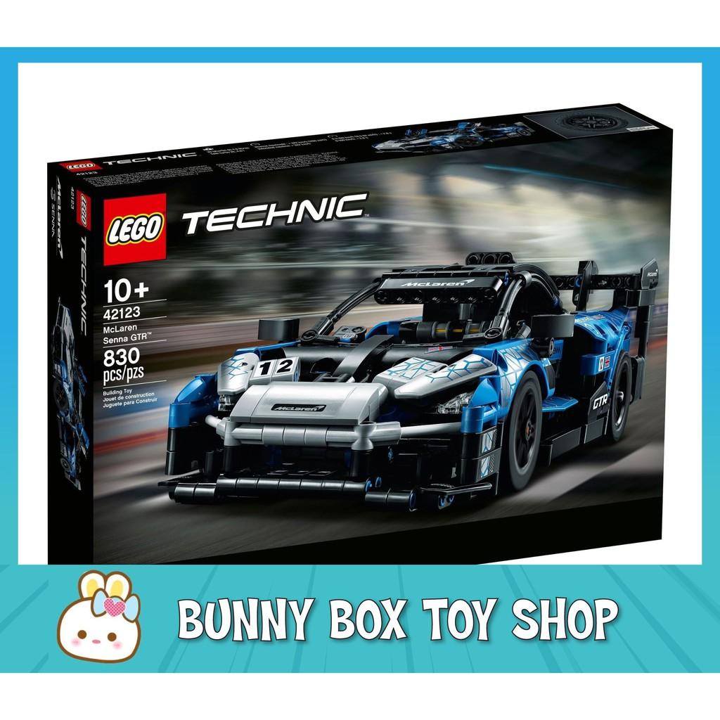 [Genuine] LEGO Technic 42123 McLaren Senna GTR Toys for Kids Boys Girls
