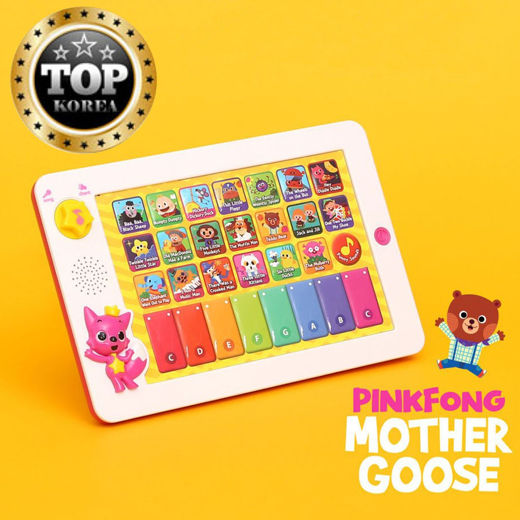 [PINKFONG] Mother Goose Sound Pad (ENG)