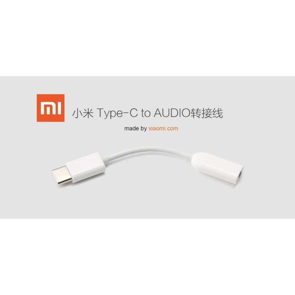 Xiaomi USB-C to 3 5mm Headphone Jack Adapter, Type C to 3 5mm Headphone  Adapter - Earphone Audio Converter USB C