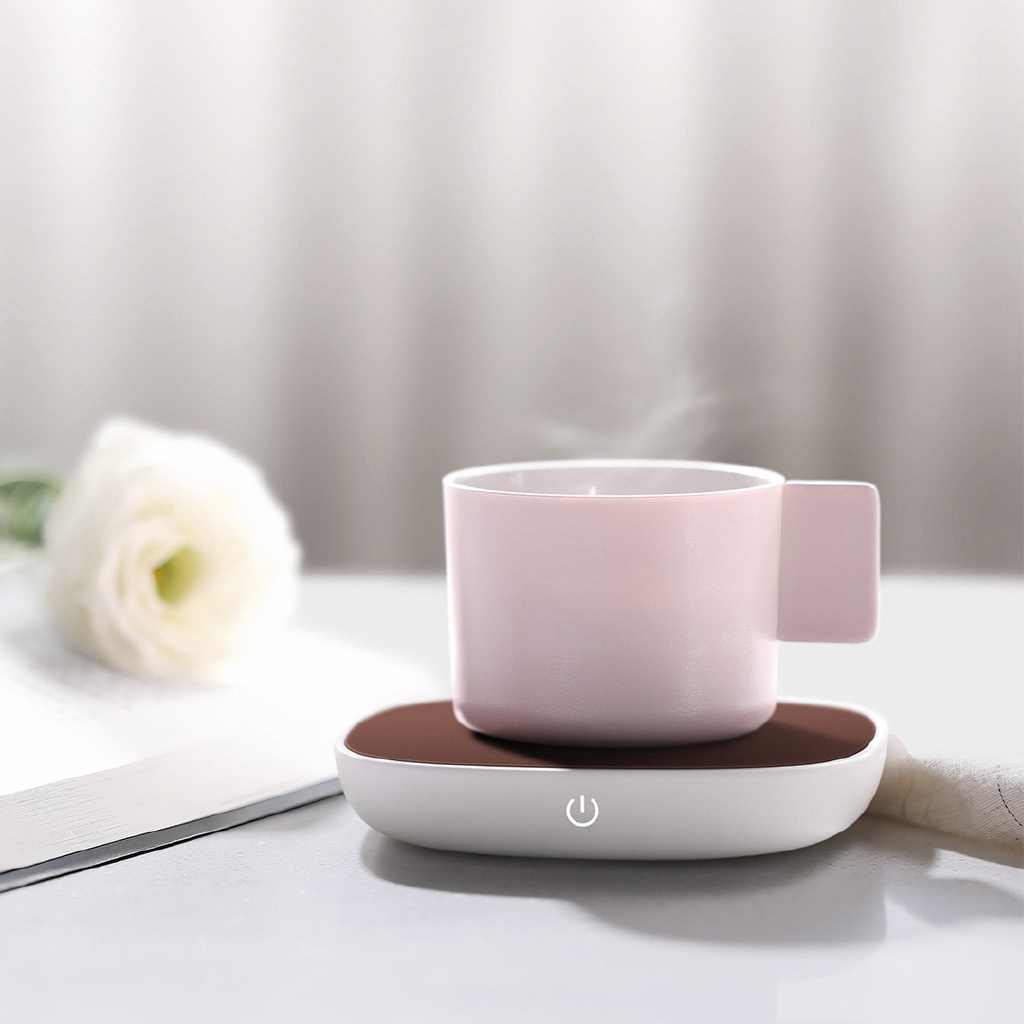 Silent Electric Tray Coffee Tea Drink Warmer Cup Heater Beverage For Home Office