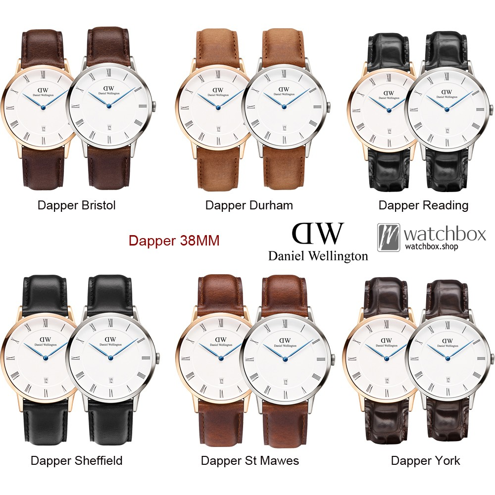 Original Daniel Wellington DW Watch Men Classic Black Bristol | 40mm rose gold | Shopee Singapore