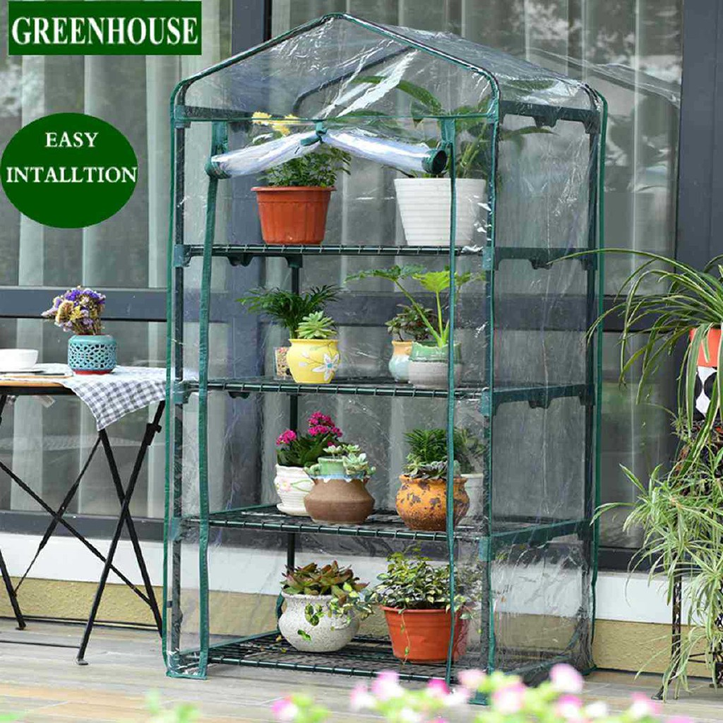 Greenhouse Plant Storage Garden Shed