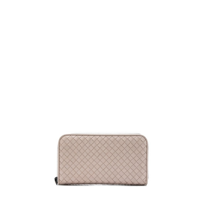 dc4c852f00 Bottega Veneta Intrecciato Nappa Long Zip Around Wallet (Petale ...