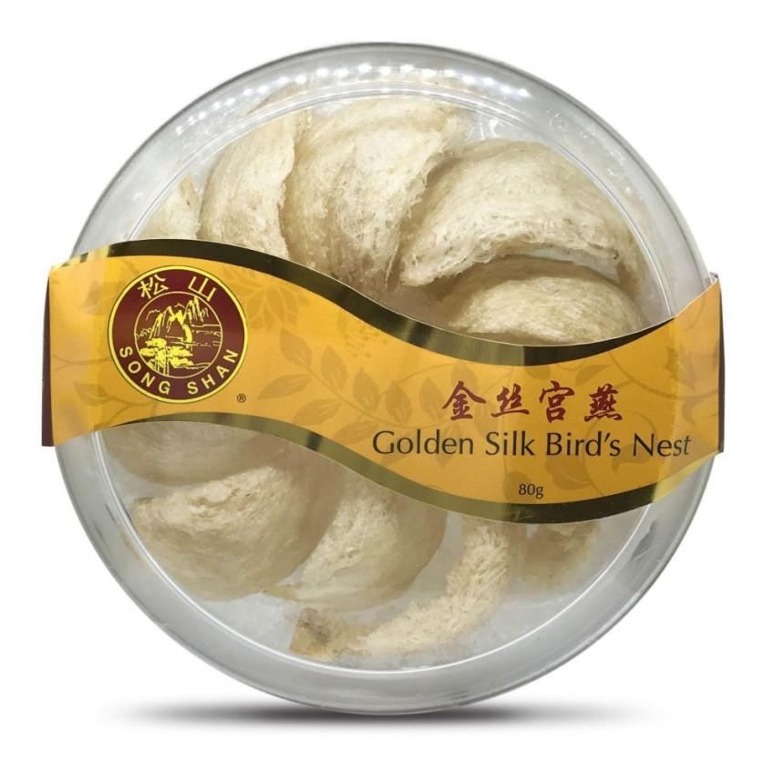 Song Shan Golden Silk Bird's Nest (80g)