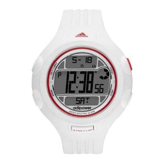 Adidas Women s White Adipower Digital Chrono Watch ADP3132  37d84c37b